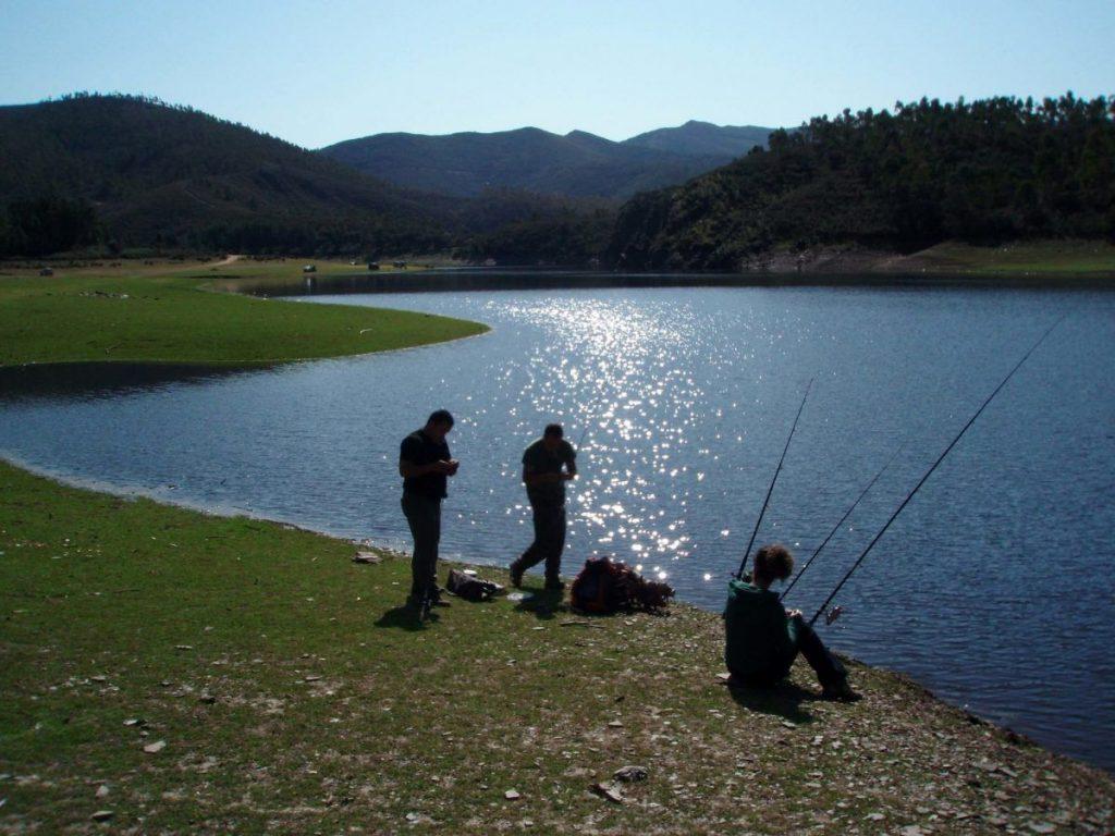 ríos para pescar en Salamanca