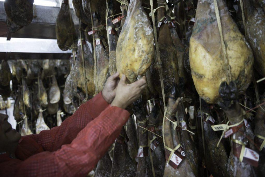 visita guiada secadero de jamon iberico