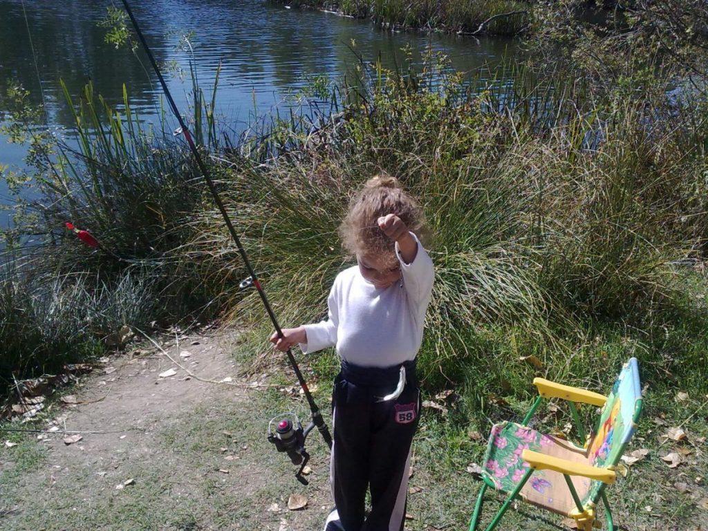 pescar con niños en Salamanca